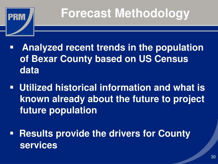 Forecast Methodology