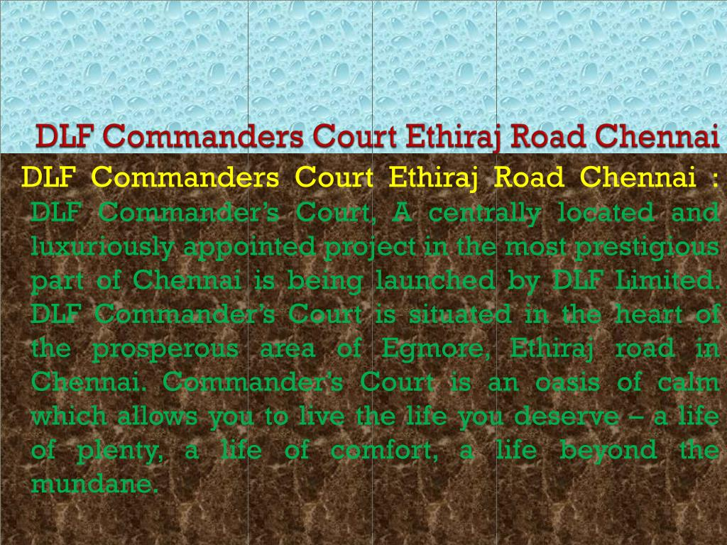 DLF Commanders Court