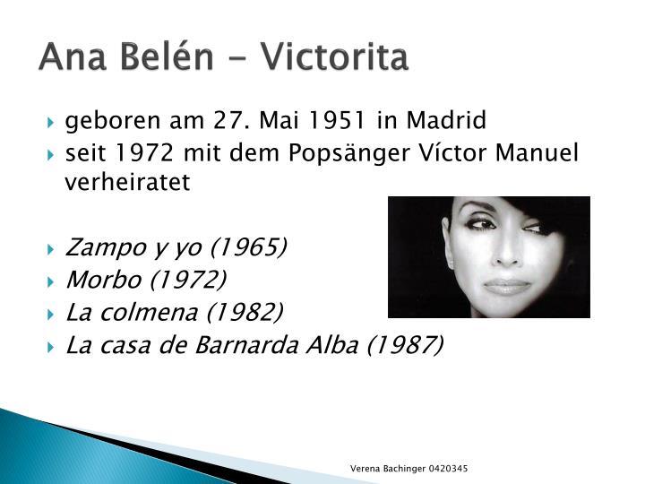 Ana Belén -
