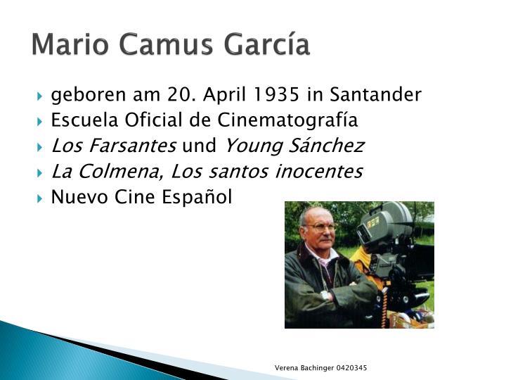 Mario Camus García