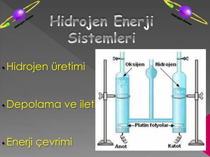 Hidrojen Enerji Sistemleri