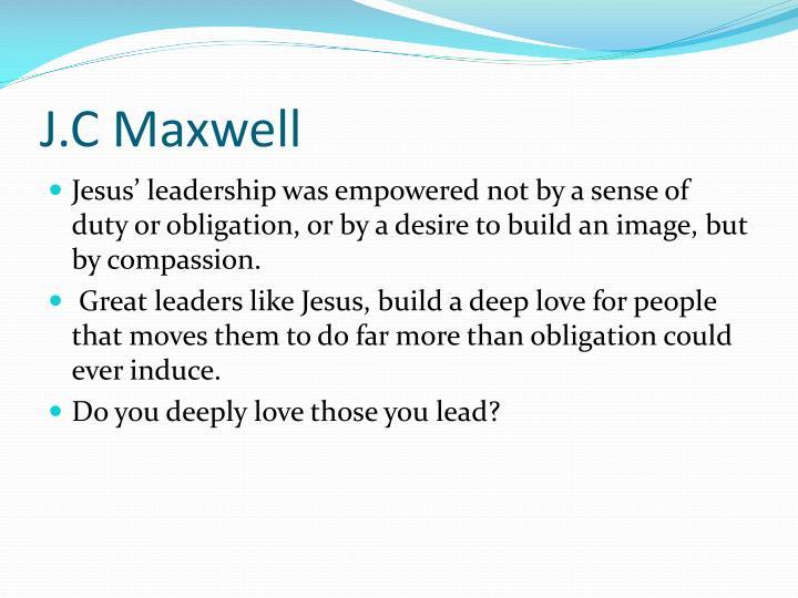J.C Maxwell