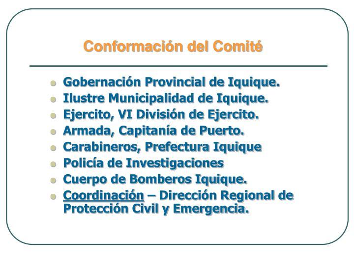 Gobernación Provincial de Iquique.
