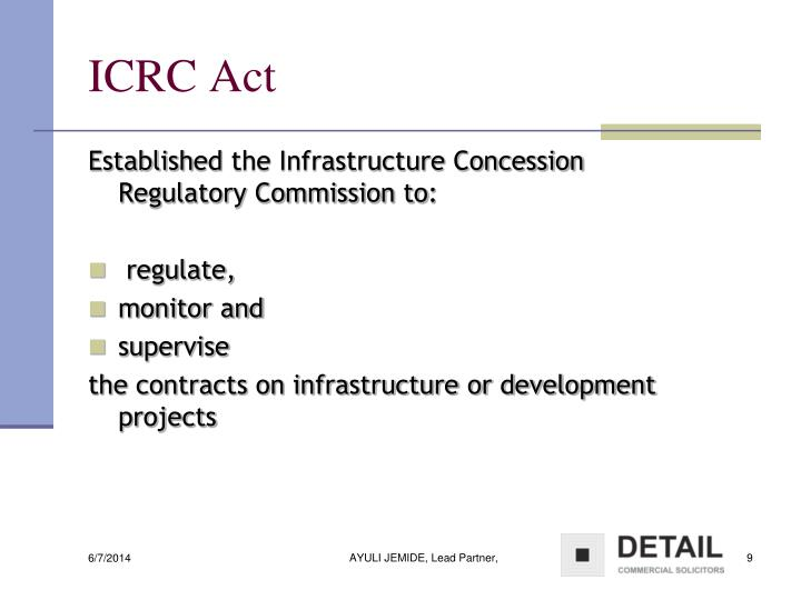 ICRC Act