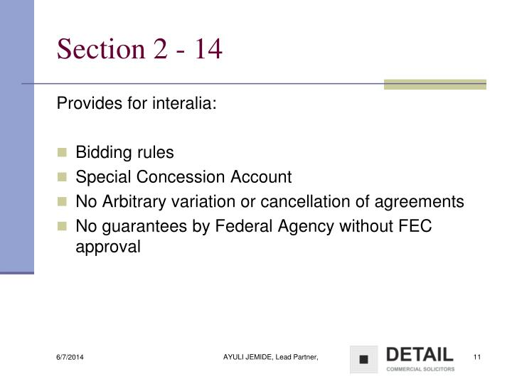 Section 2 - 14