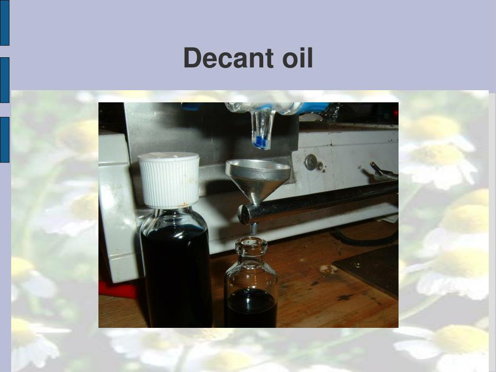 Decant oil