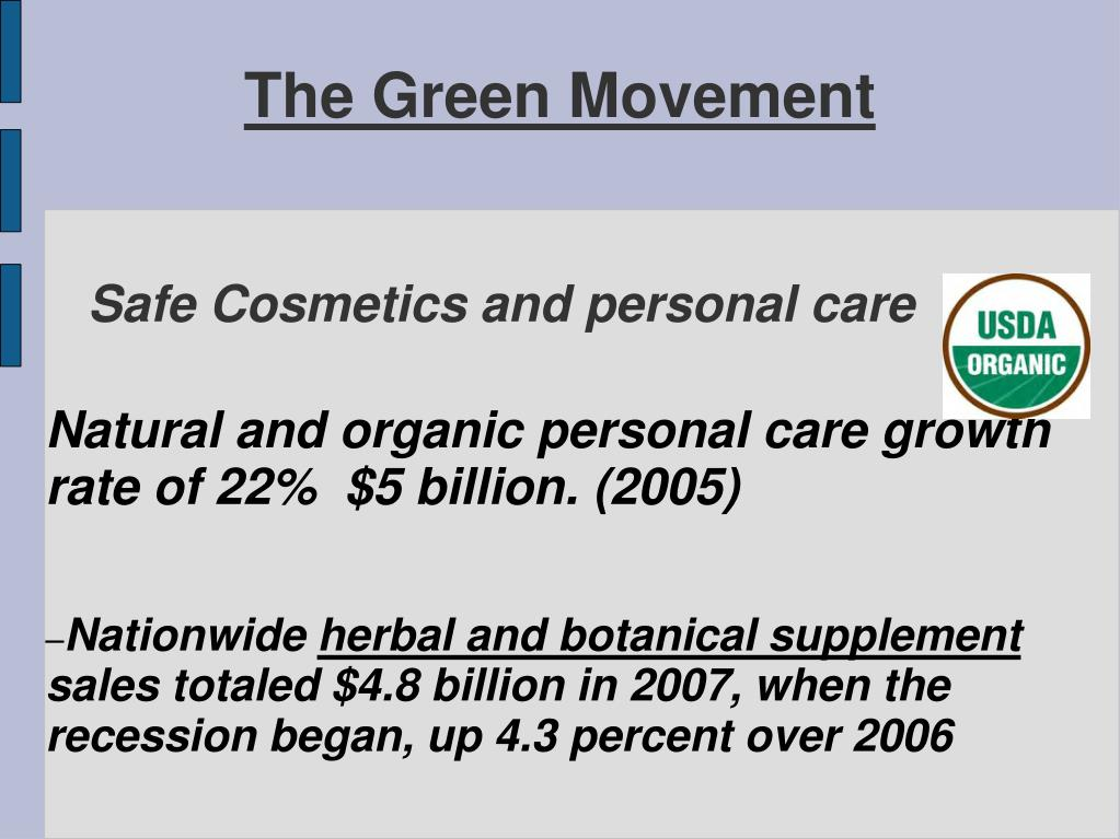 Safe Cosmetics and personal care