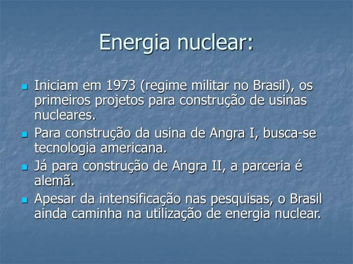 Energia nuclear: