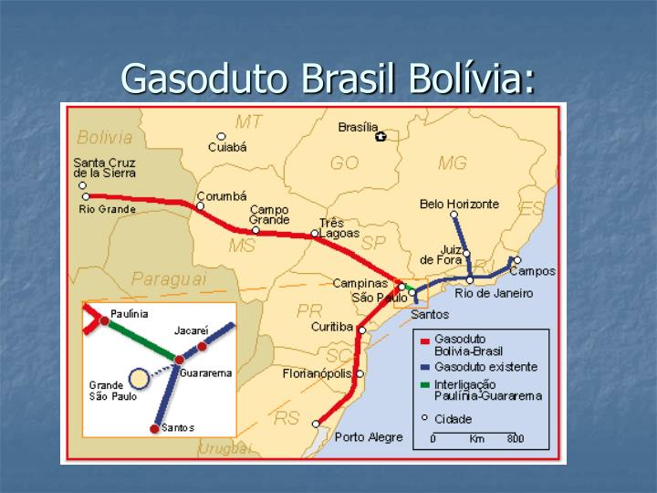 Gasoduto Brasil Bolívia: