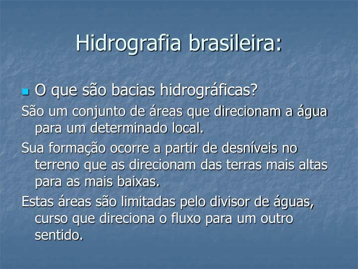Hidrografia brasileira: