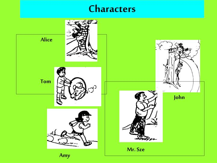 Characters