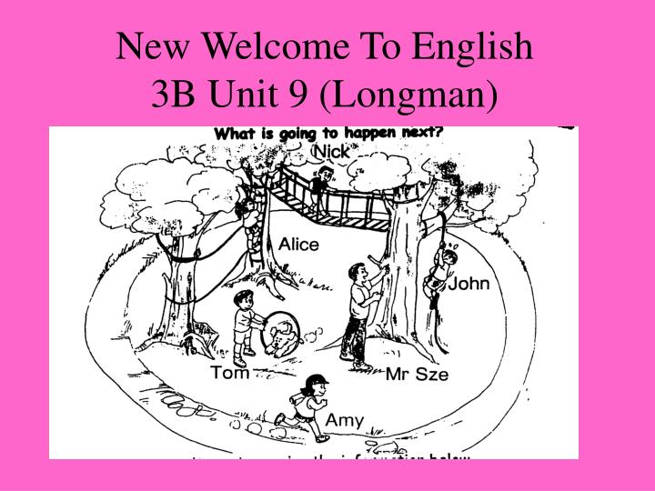 New Welcome To English