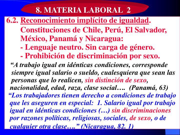 8. MATERIA LABORAL  2