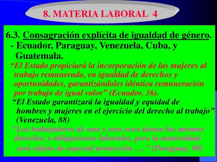 8. MATERIA LABORAL  4