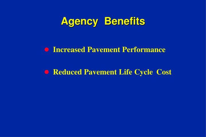 Agency  Benefits