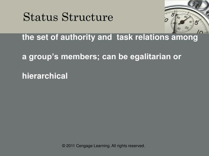 Status Structure