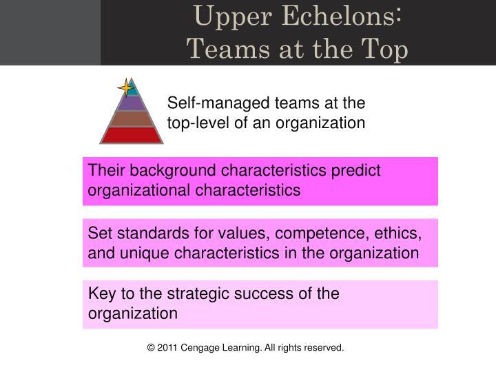 Upper Echelons: