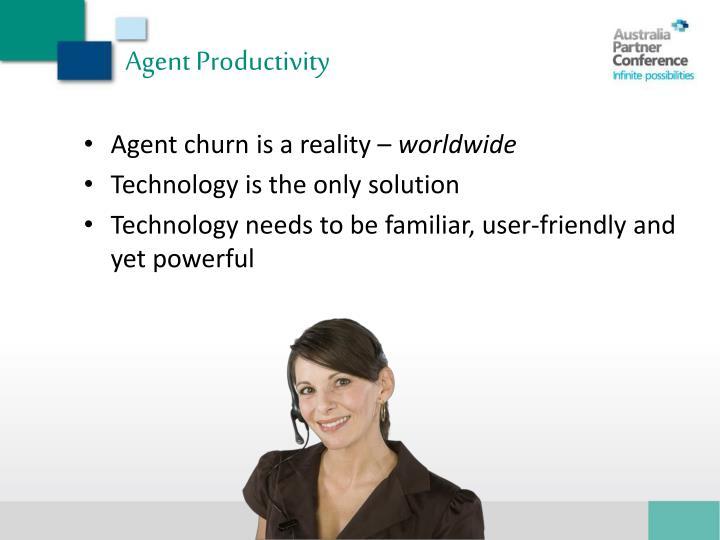 Agent Productivity