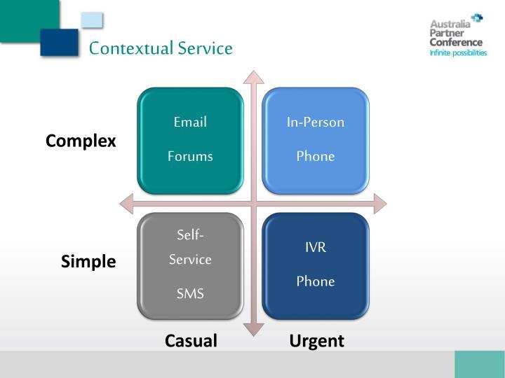 Contextual Service