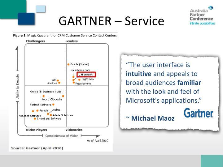 GARTNER – Service