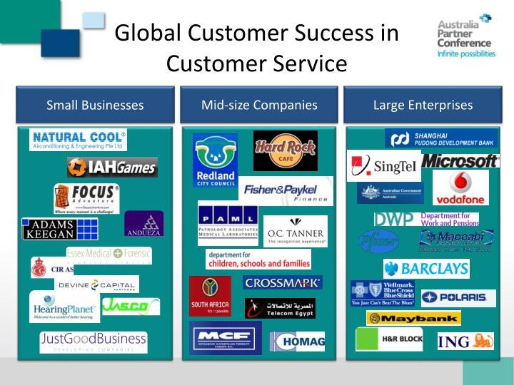 Global Customer Success in