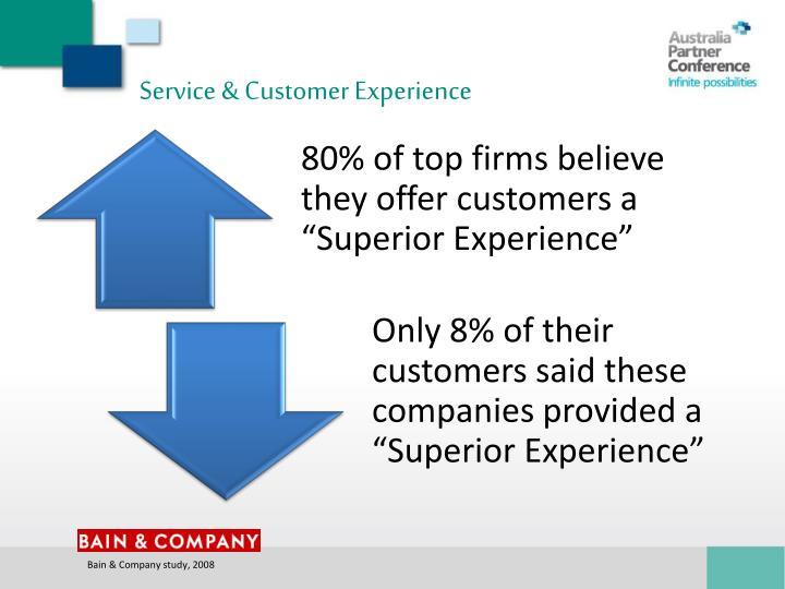 Service & Customer Experience
