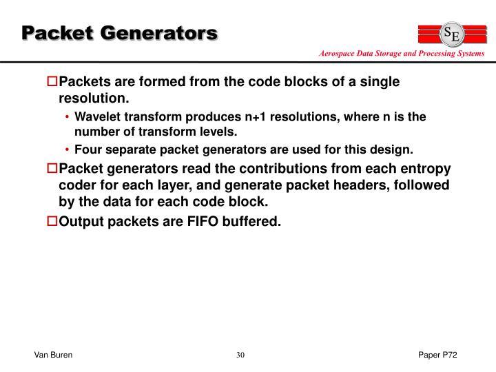Packet Generators