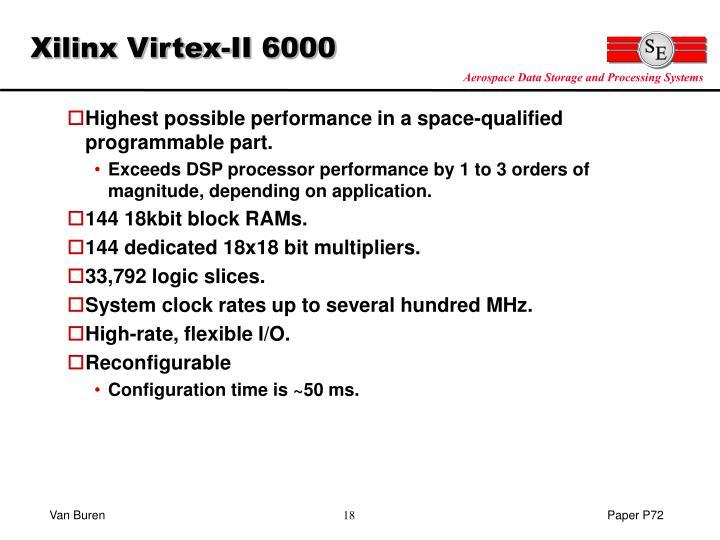 Xilinx Virtex-II 6000
