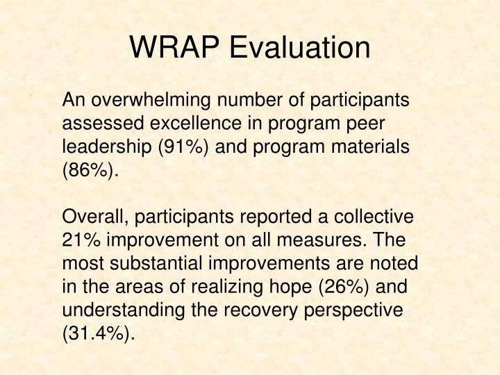 WRAP Evaluation
