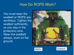 how do rops work1