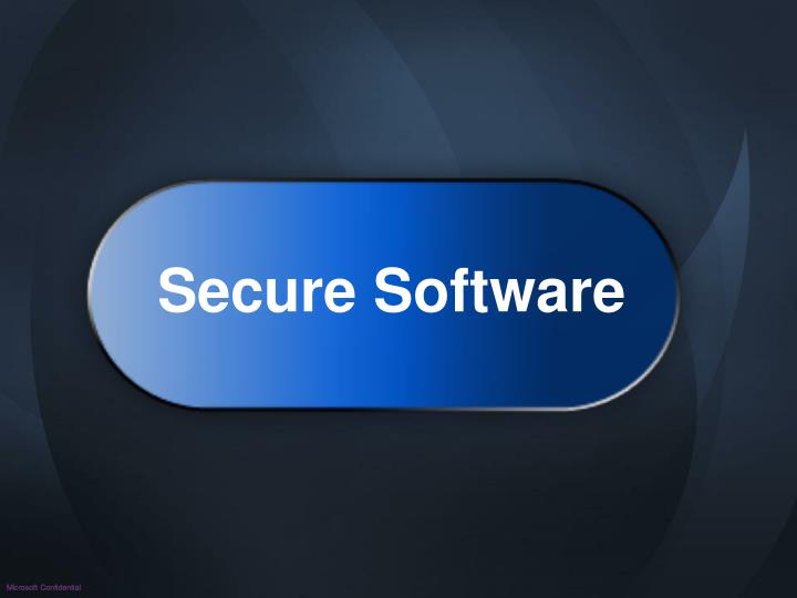Secure Software