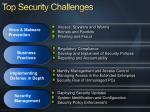 top security challenges