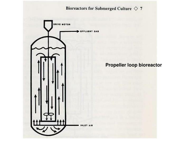 Propeller loop bioreactor