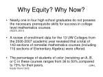 why equity why now1