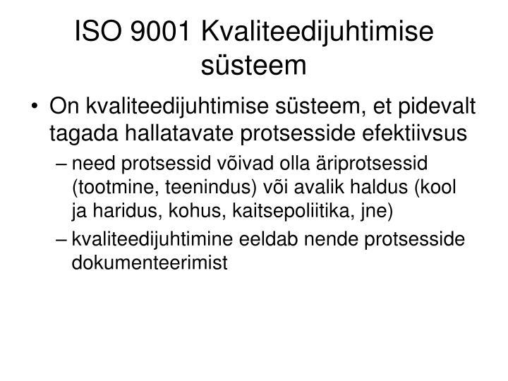 ISO 9001 K