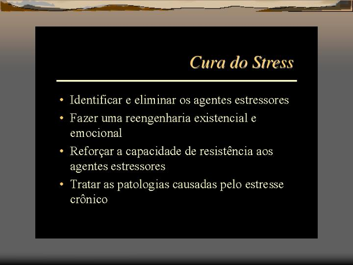 Cura do Stress