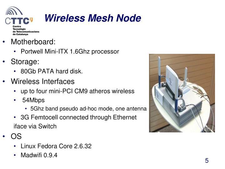 Wireless Mesh Node