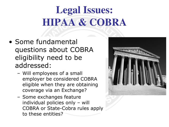 Legal Issues: