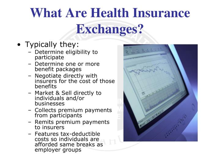 What Are Health Insurance Exchanges?