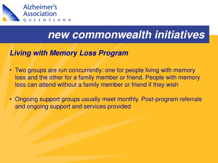 new commonwealth initiatives