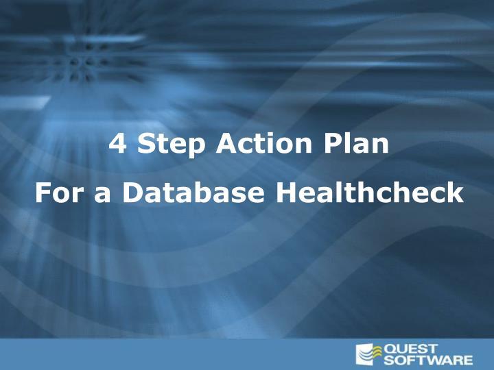 4 Step Action Plan