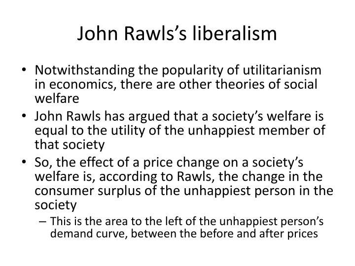 John Rawls's liberalism