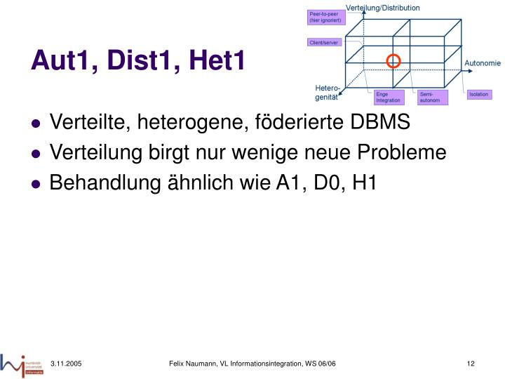 Aut1, Dist1, Het1