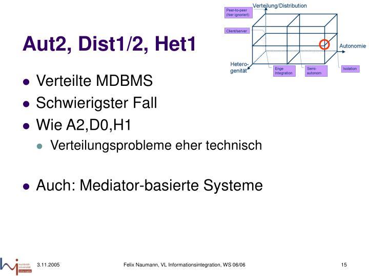 Aut2, Dist1/2, Het1