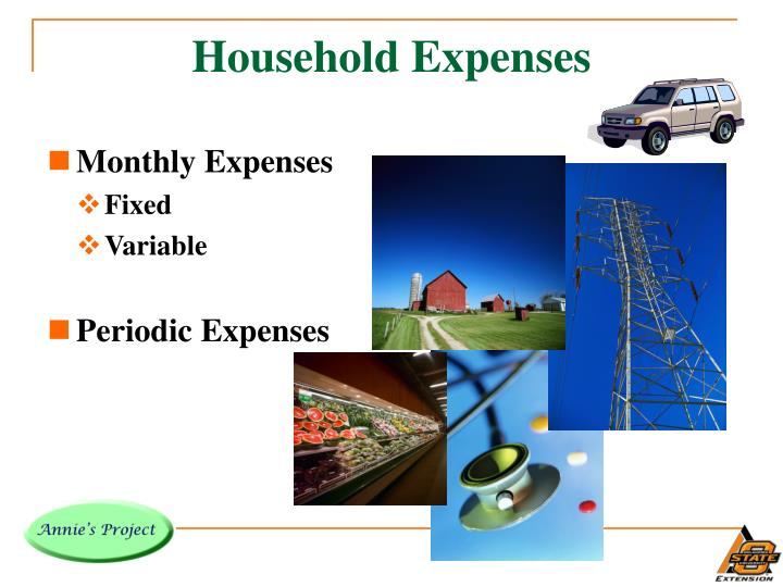Household Expenses