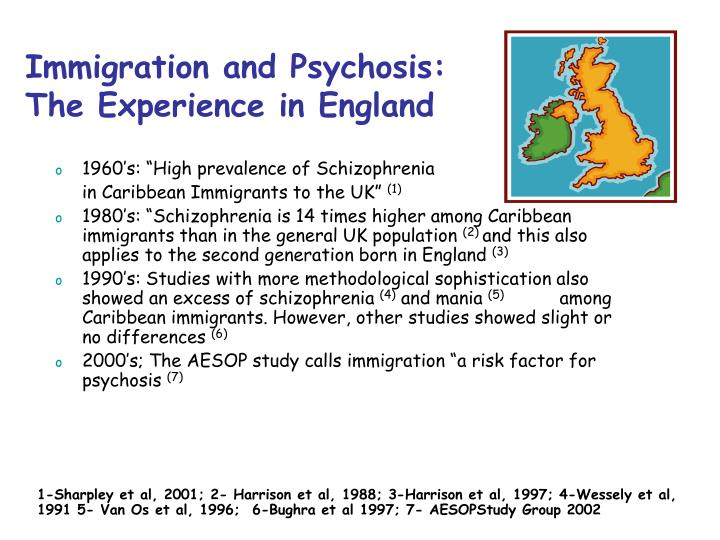Immigration and Psychosis: