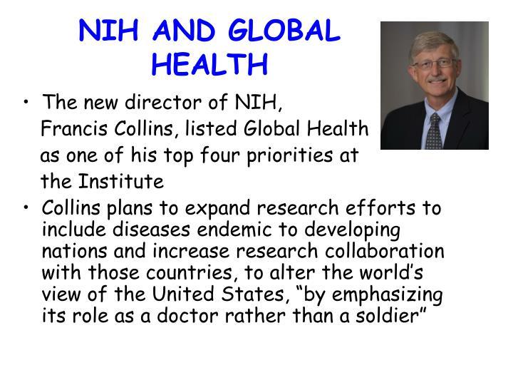 NIH AND GLOBAL