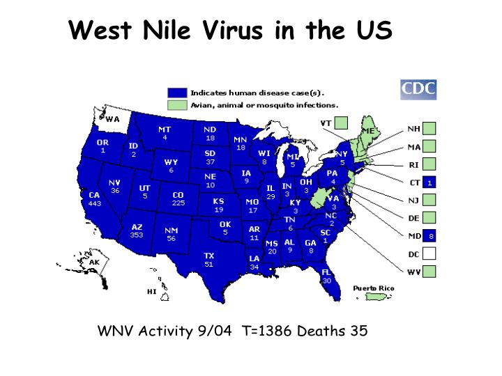West Nile Virus in the US