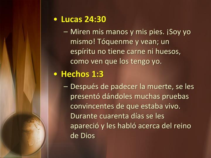 Lucas 24:30