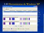 2 10 herramientas de windows xp1